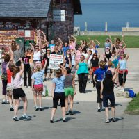 Yoga and Dance Jam at Anderson Dock